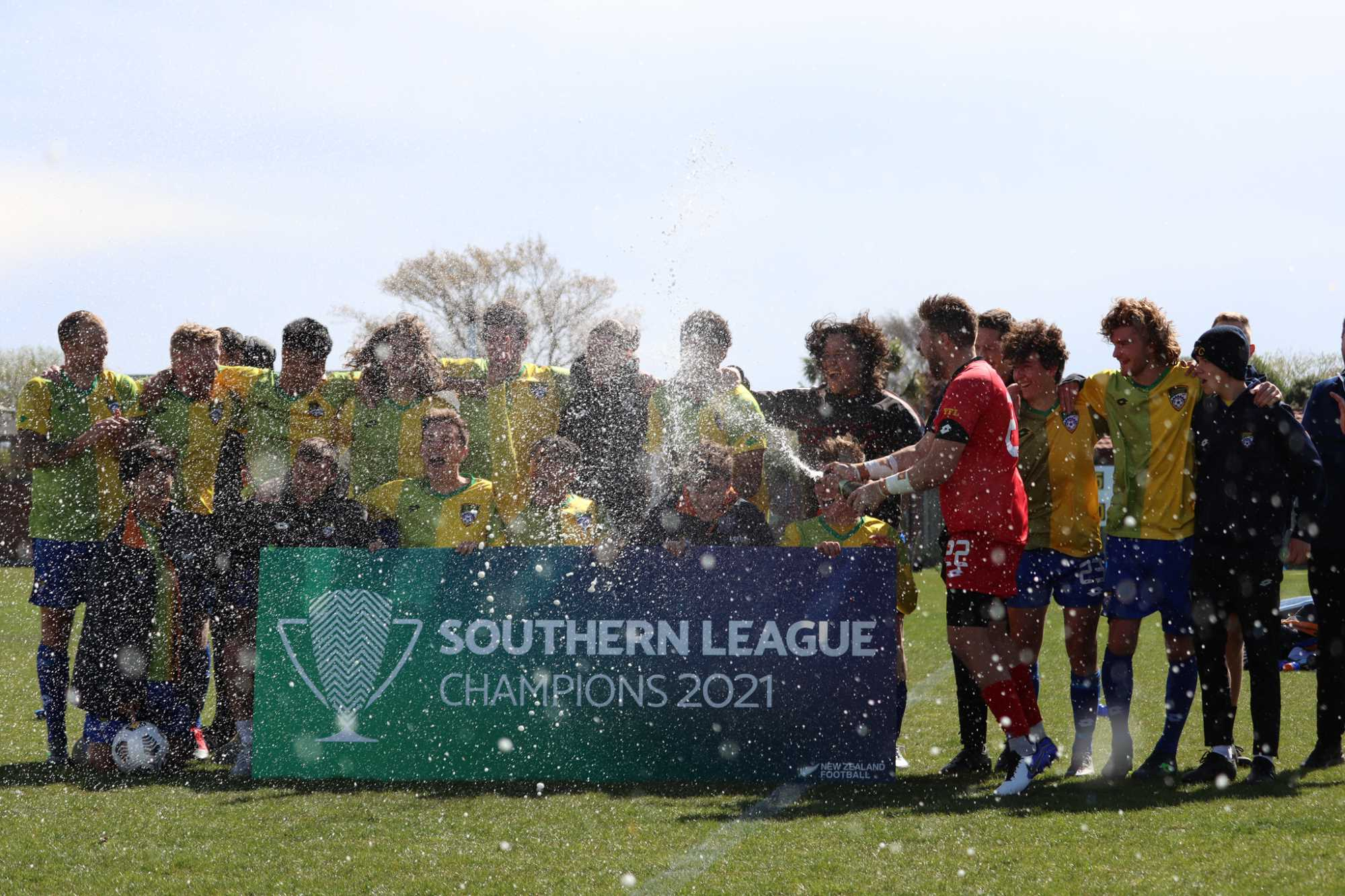 Cashmere Technical wrapped up the Southern League at the weekend. Photo: Matt Hastings via...