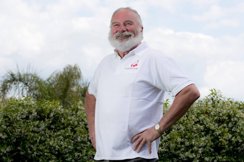 Neville Baker has been the Farmers Santa Parade Santa for the past few years. He runs My Santa, a...