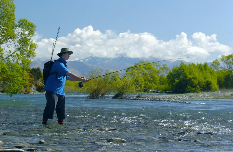 The Waitaki River is one of four Otago waterways on the 'Lost Rivers' map. Photo Gerard O'Brien