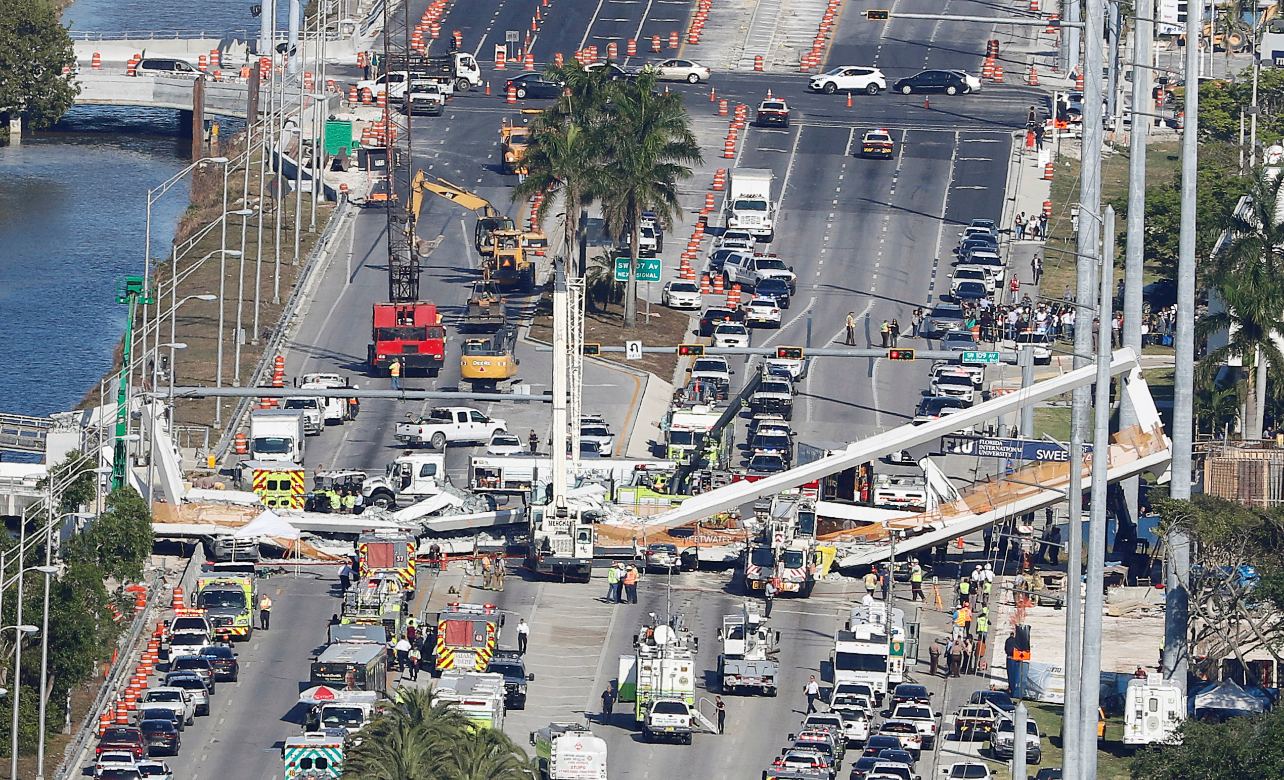 Officials identify 4 victims killed in Miami bridge collapse