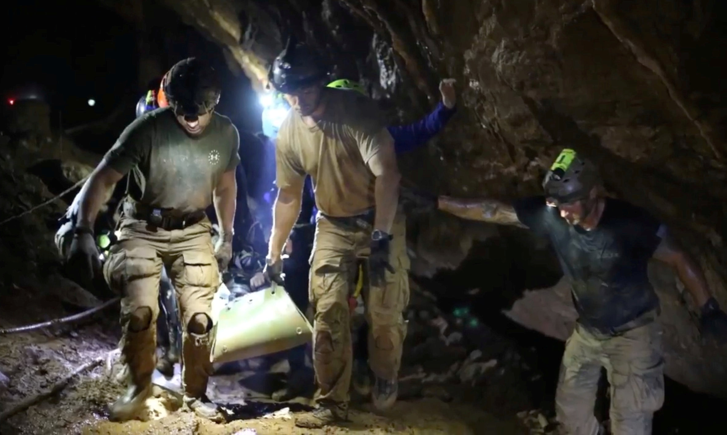 Grit, daring and beating terror - how Thailand's cave boys were rescued