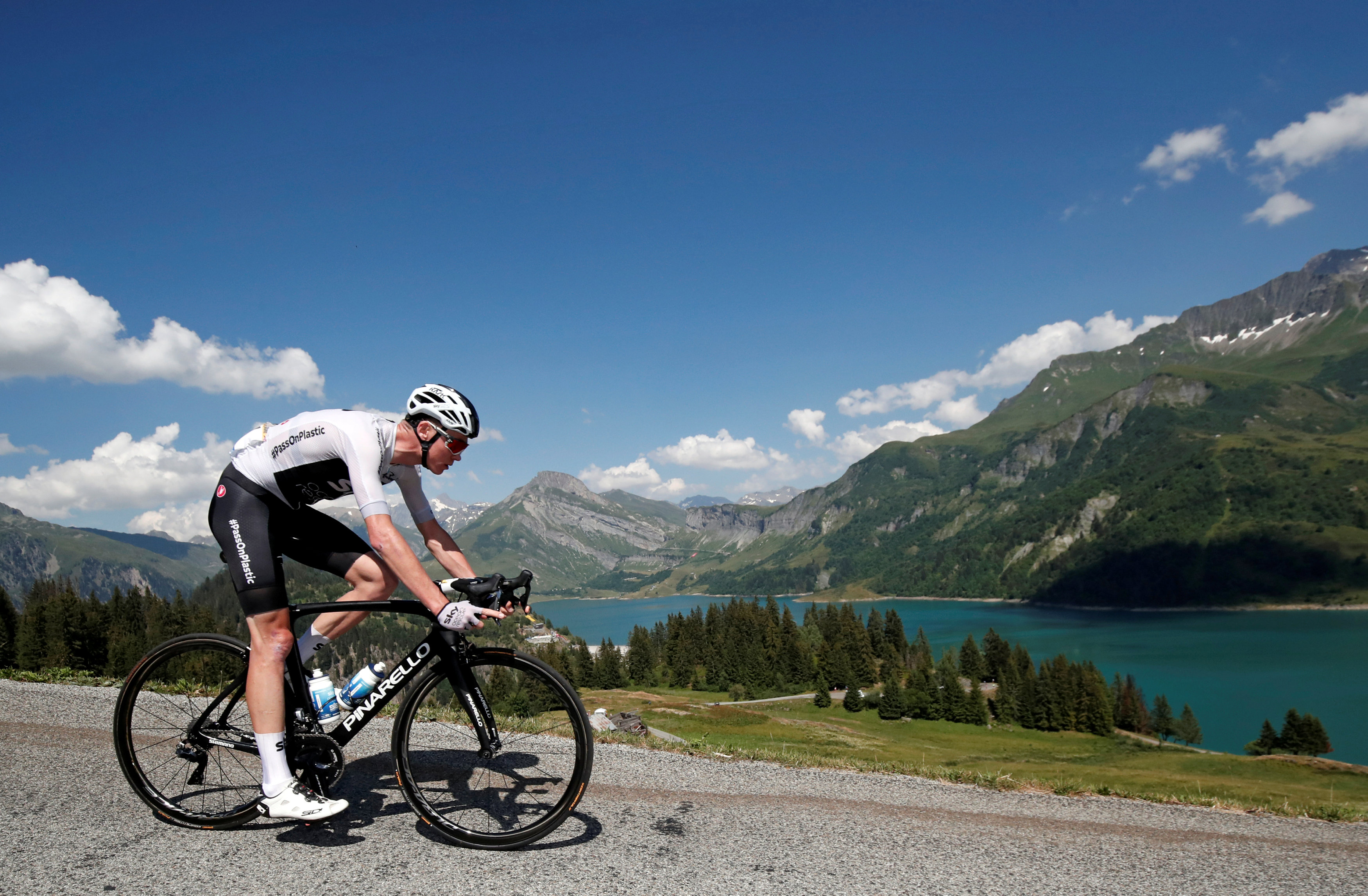 0d89c1a38 Chris Froome remains the Team Sky leader. Photo  Reuters