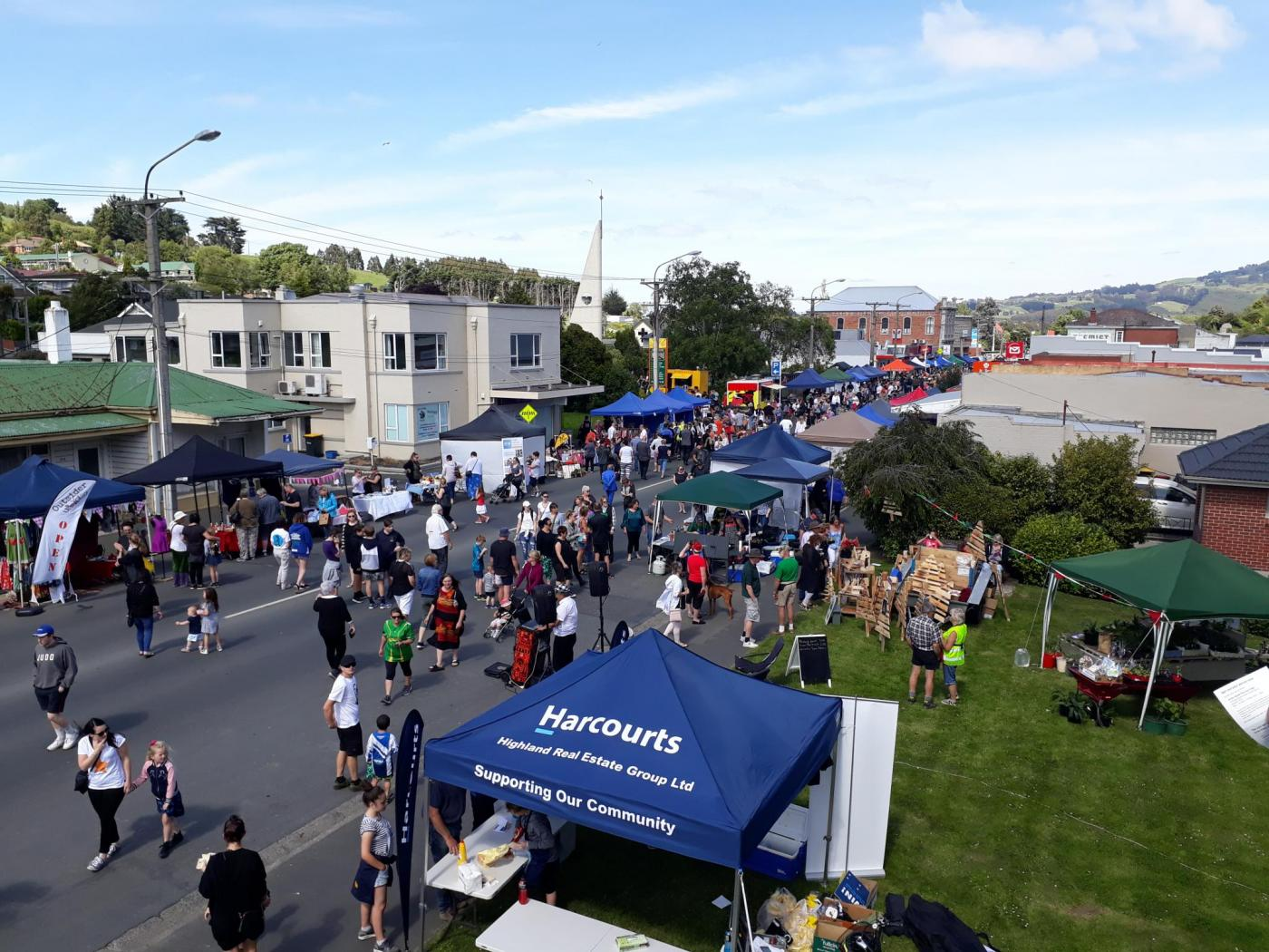 Packed . . . More than 100 stalls are expected at this weekend's Green Island Market Day. PHOTOS:...