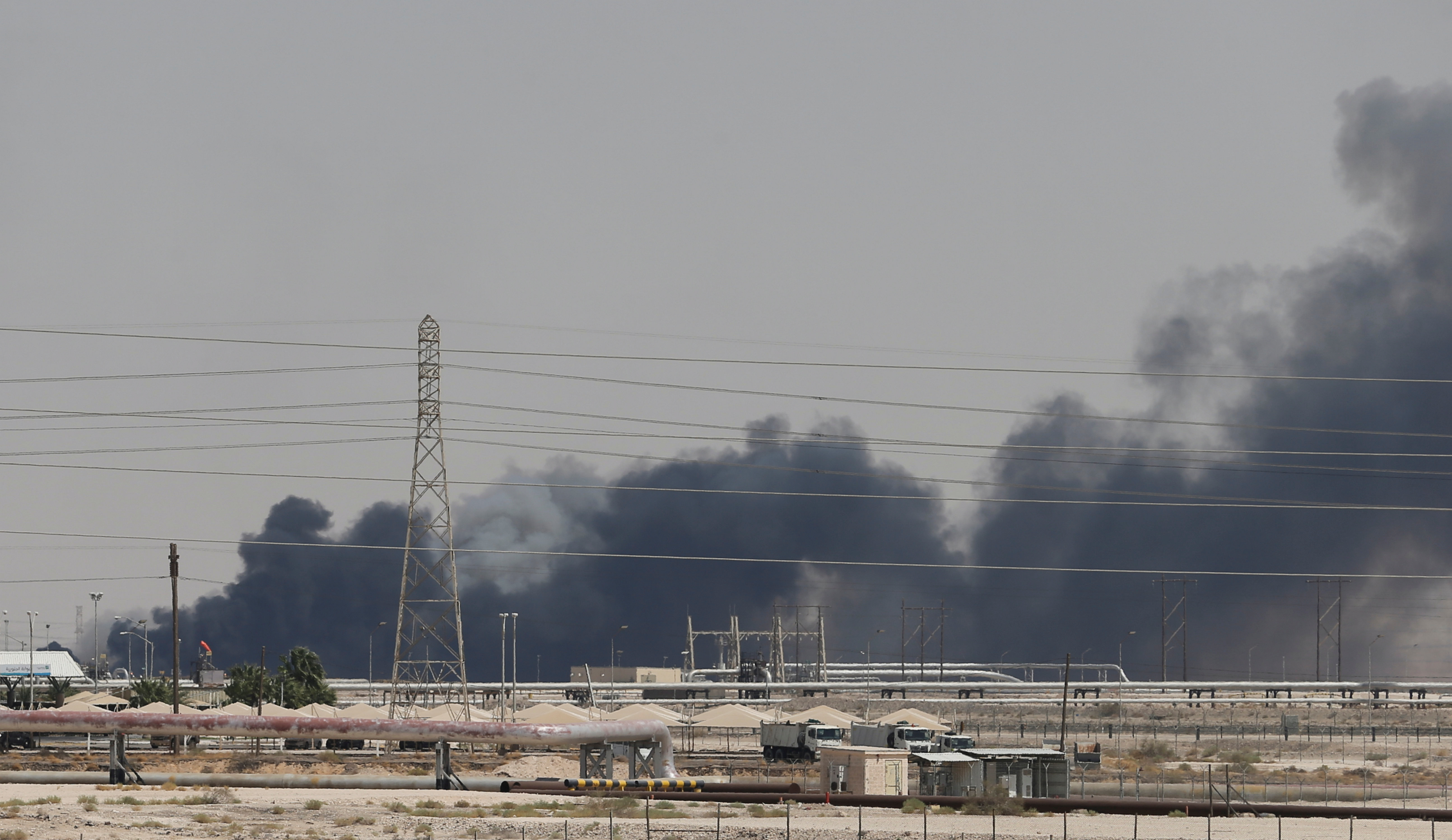 The Aramco facility in Abqaiq was targeted.  The oil processing plant handles crude from the...