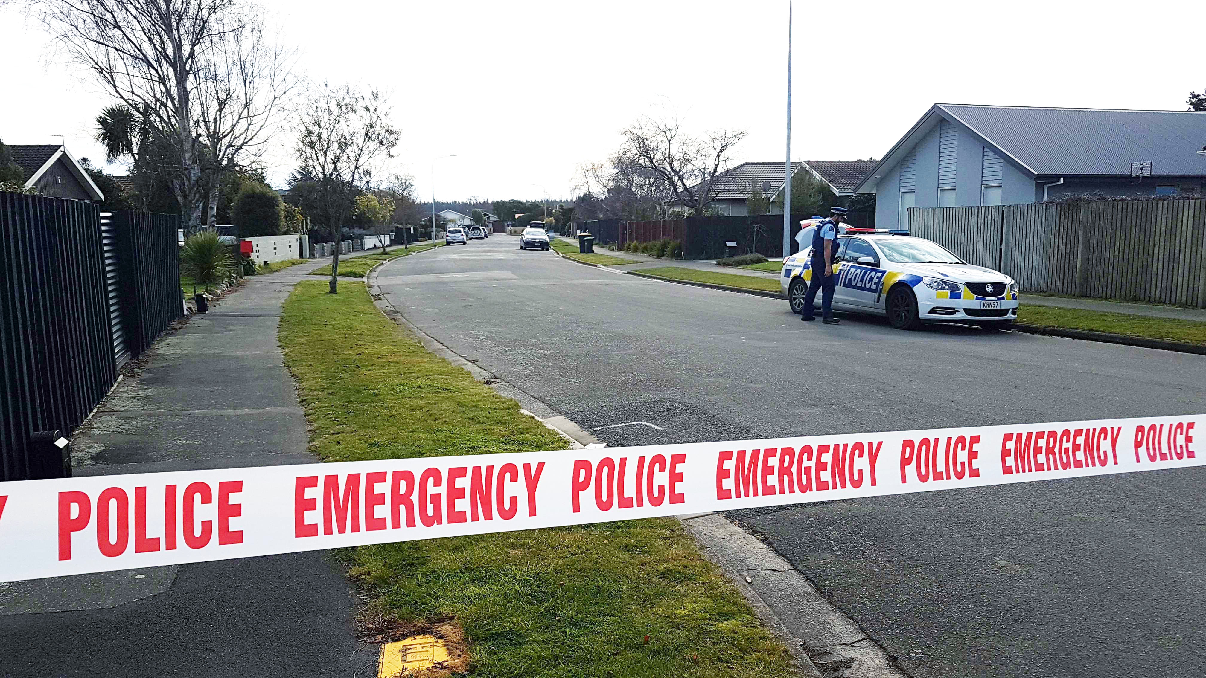 Police were called to Four Elms Pl in Parklands about 8.30am on Thursday. Photo: Geoff Sloan