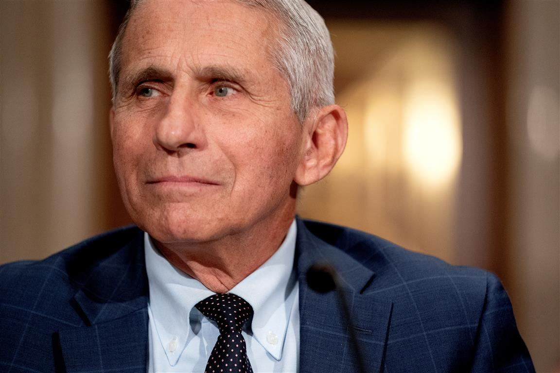 Anthony Fauci. Photo: Reuters