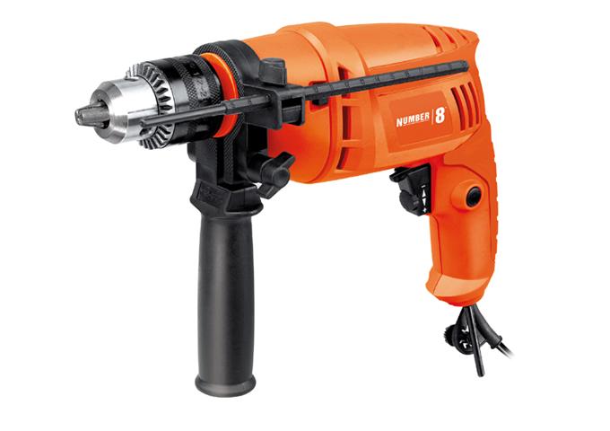 EXCLUSIVE Number 8 Impact Drill 500 Watt Orange $29.98