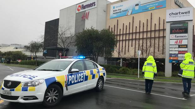 A number of suspected homemade bombs have been found at a Hamilton mall this morning. Photo /...