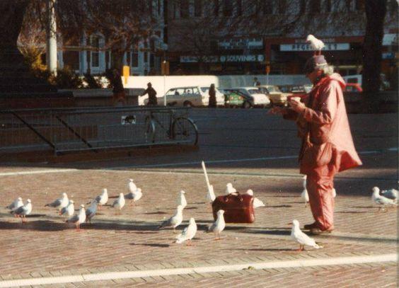 The Birdman in Christchurch in 1985. Photo: Facebook
