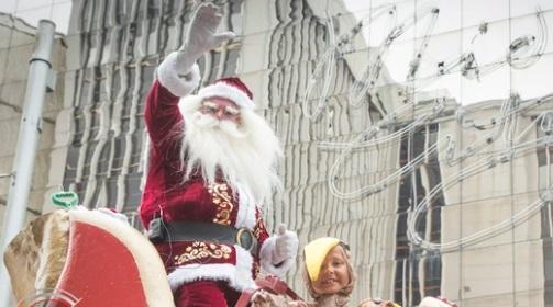 Auckland's Santa parade takes place tomorrow. Photo: NZ Herald