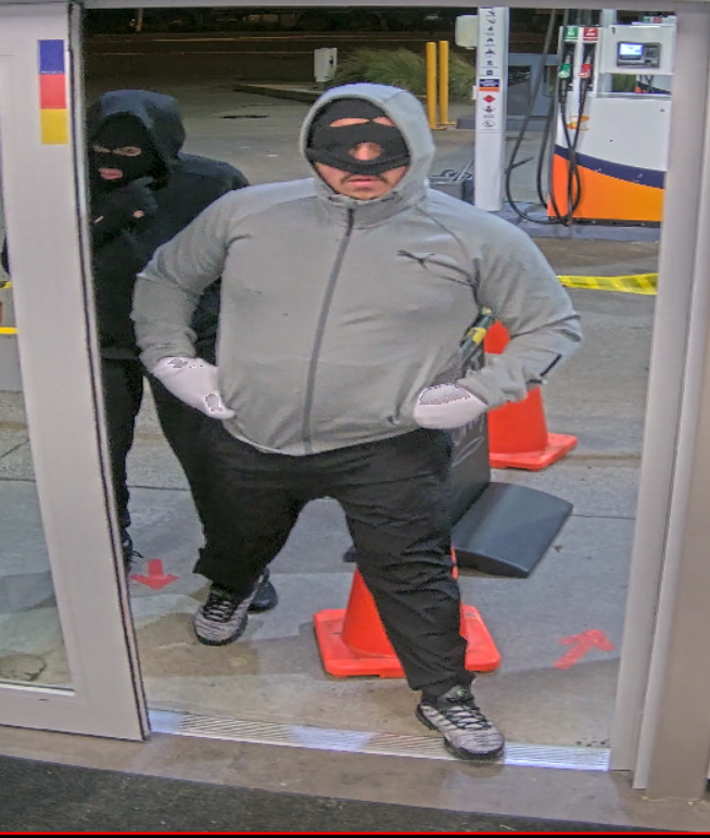 Amberley Z was robbed at about 10.20pm last Wednesday. Photo: NZ Police