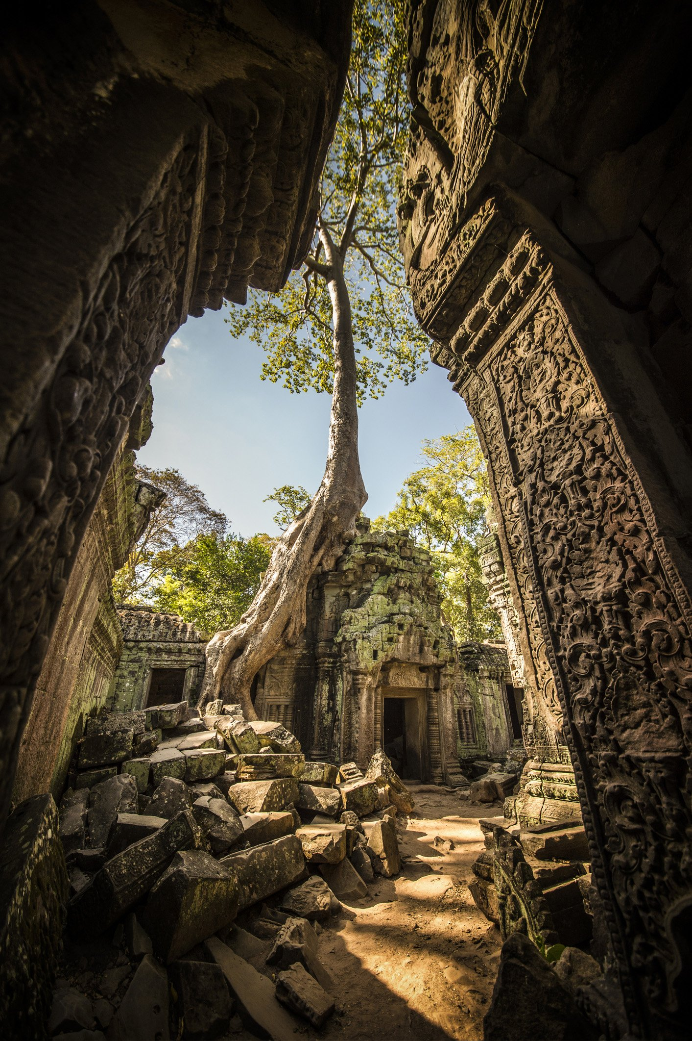 Ruins of ancient Angkor Wat in Cambodia. Photo: Getty Images