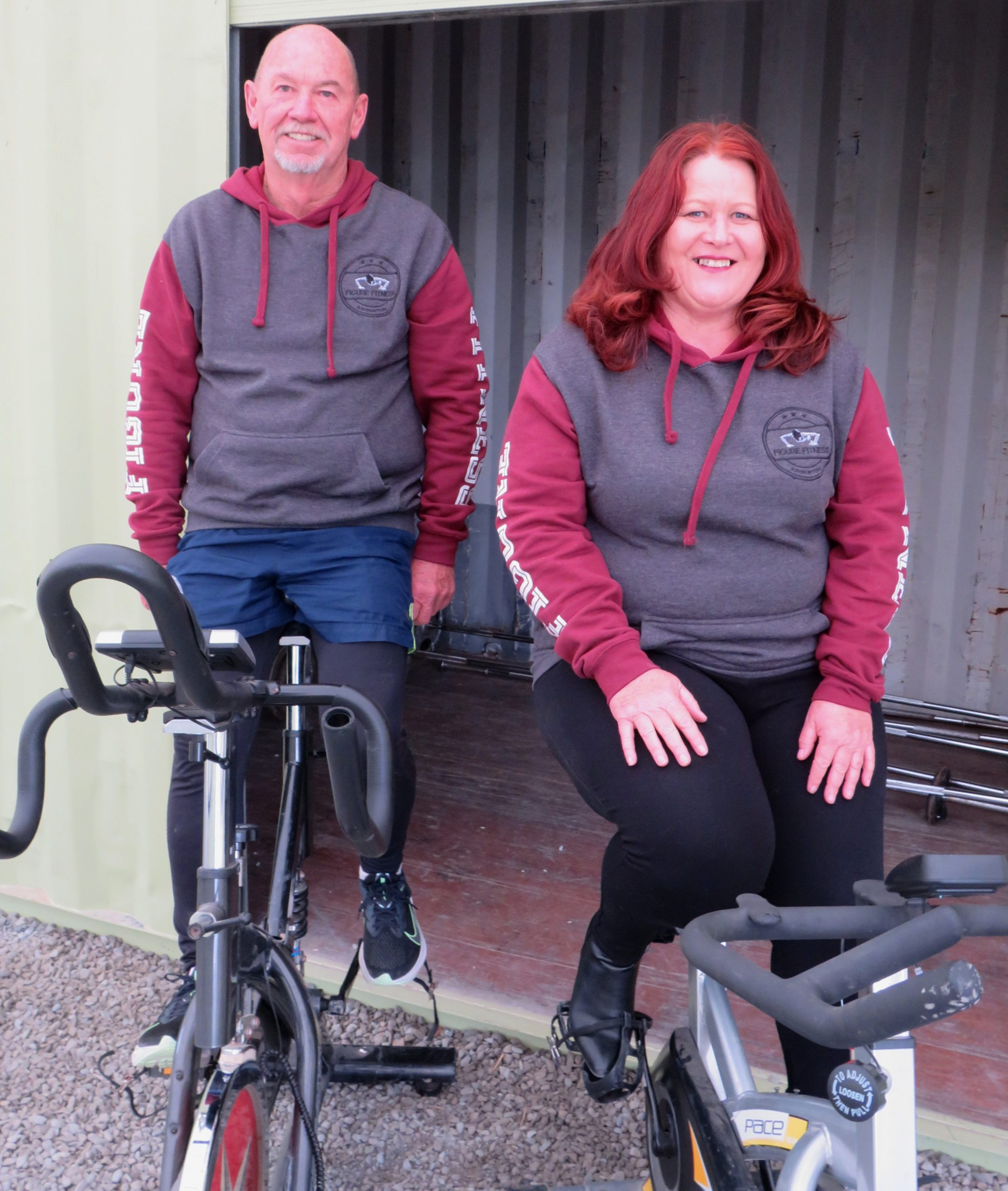 Stu and Debbie Phipps have taken over Figure Fitness Ashburton. Photo: Ashburton Courier