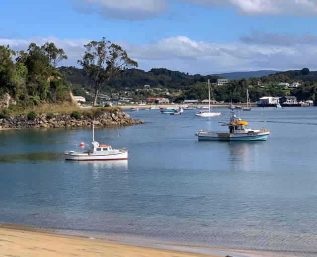 Boats moored at Lonnekers Bay on Stewart Island. File photo