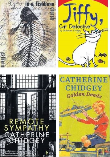 A selection of Catherine Chidgey's books.