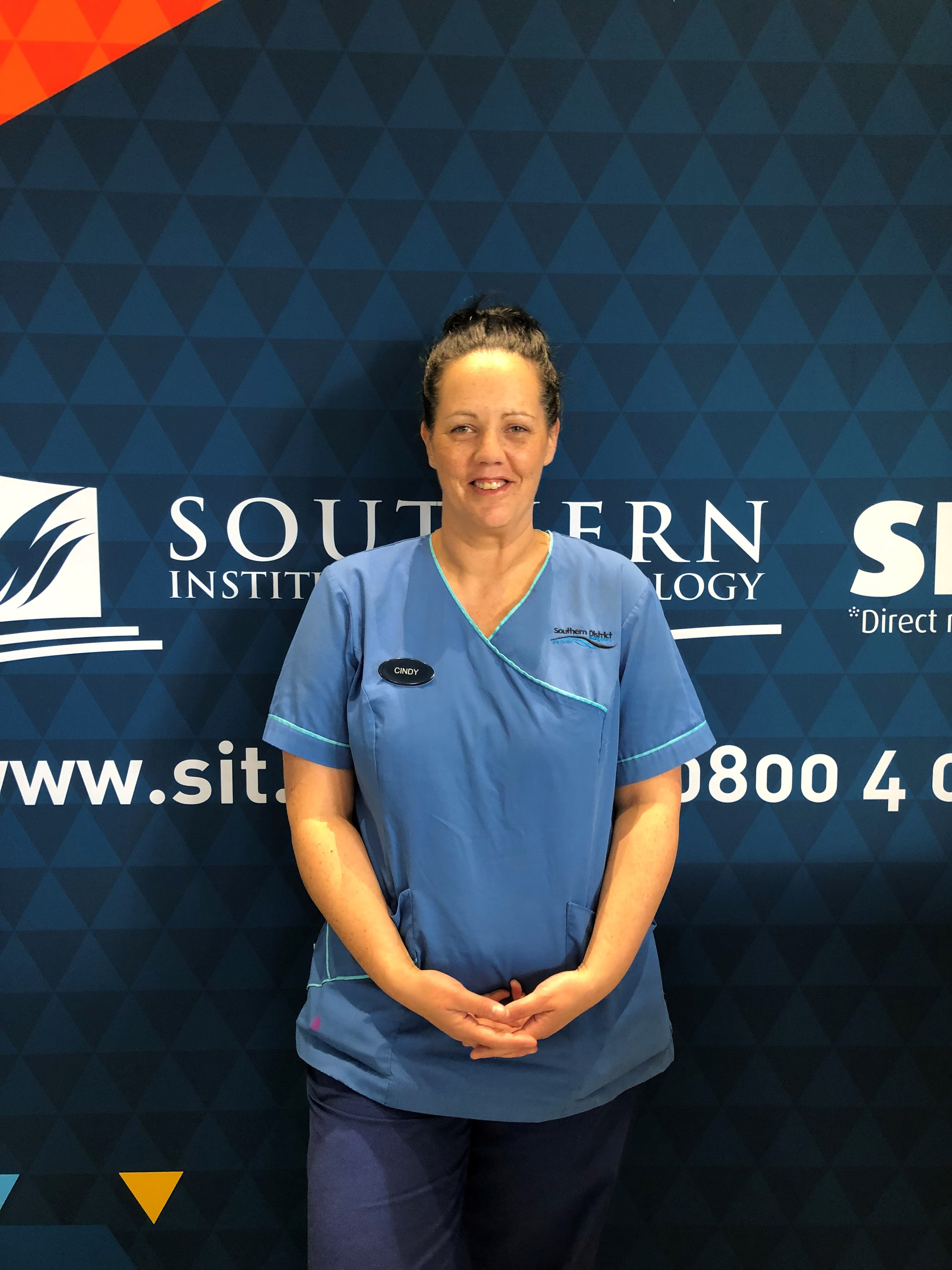 Enrolled Nursing programme graduate Cindy Fowler has successfully gained a place in the new...