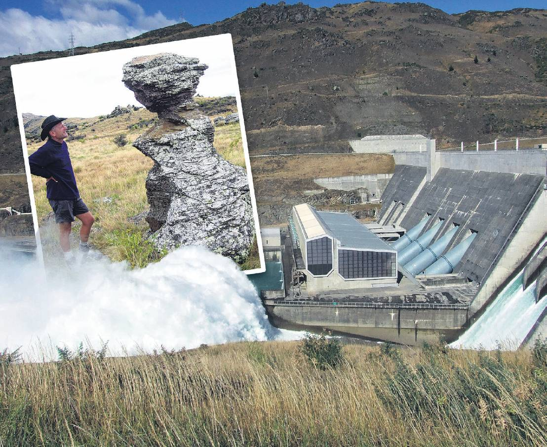 The Clyde Dam will stand the test of time, University of Otago Prof Mark Stirling says.(Inset)...