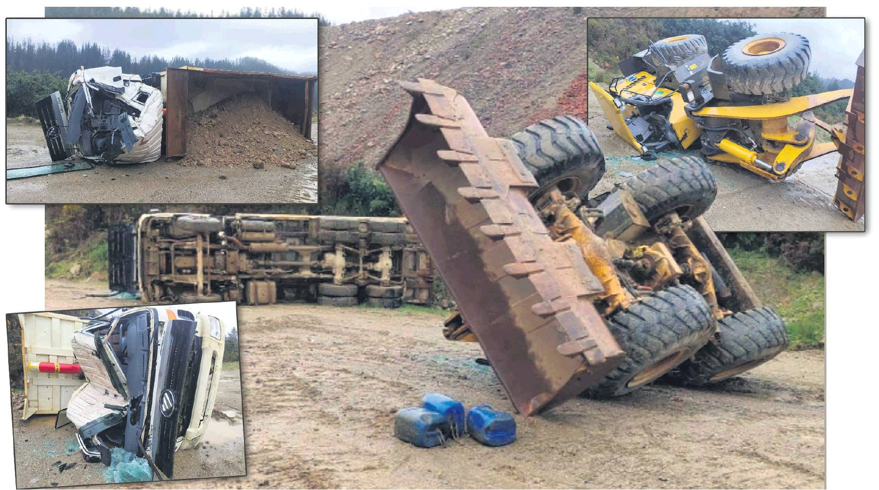 Vandals caused hundreds of thousands of dollars in damage to heavy machinery at a gold-mining...