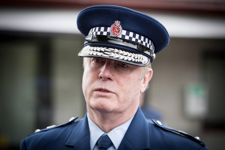 Canterbury District Commander Superintendent John Price. Photo: Jason Oxenham