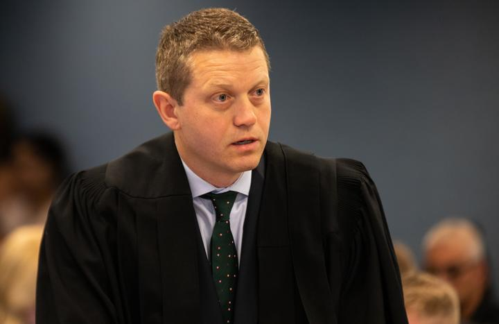 The accused man's lead counsel Ian Brookie. Photo: RNZ