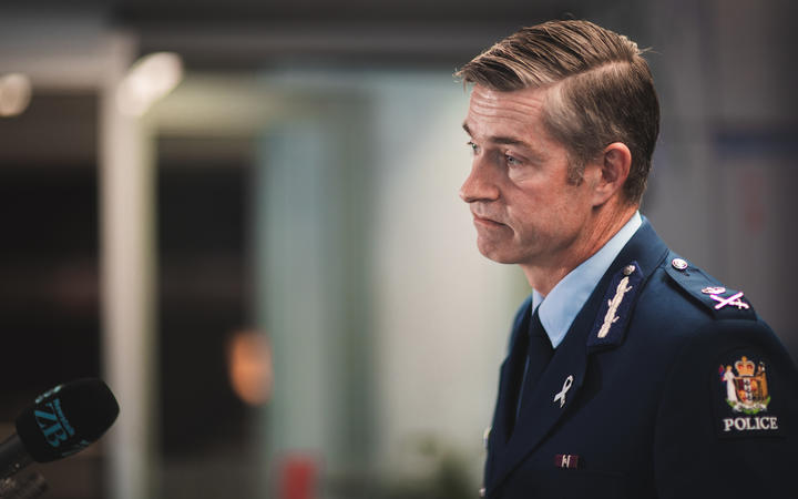 Police Commissioner Andrew Coster. Photo: RNZ