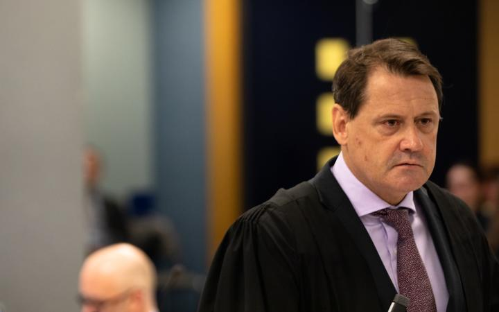 Crown Solicitor for Auckland Brian Dickey has led the prosecution's case Photo: RNZ