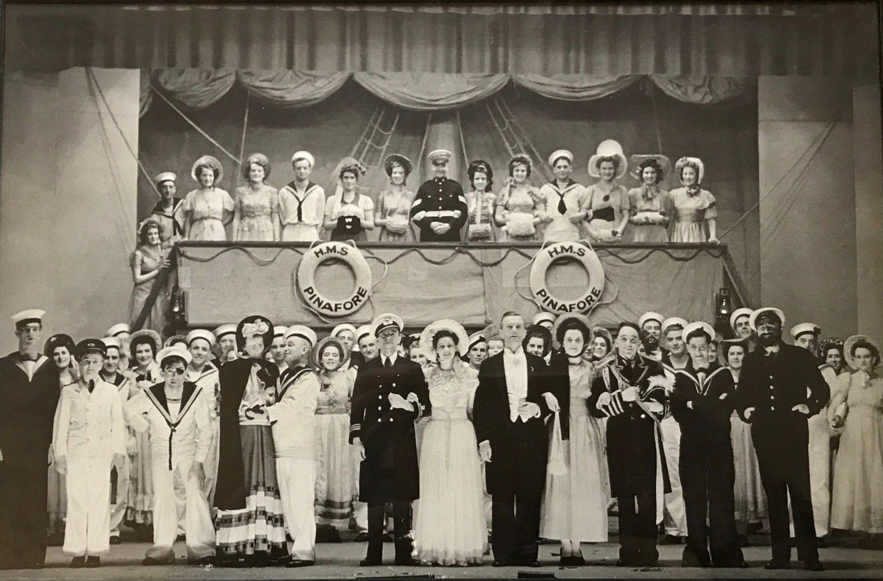 HMS Pinafore, Christchurch Armed Forces Operatic Society, 1944.
