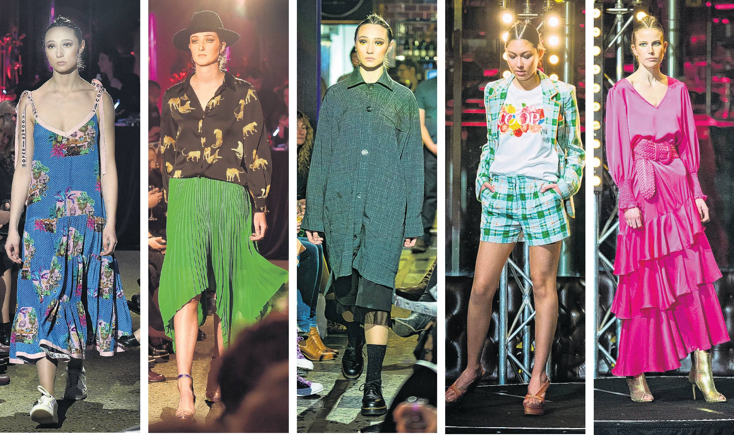 Designers to show of their spring/summer collections at last week's Breast Cancer Cure Fashion...