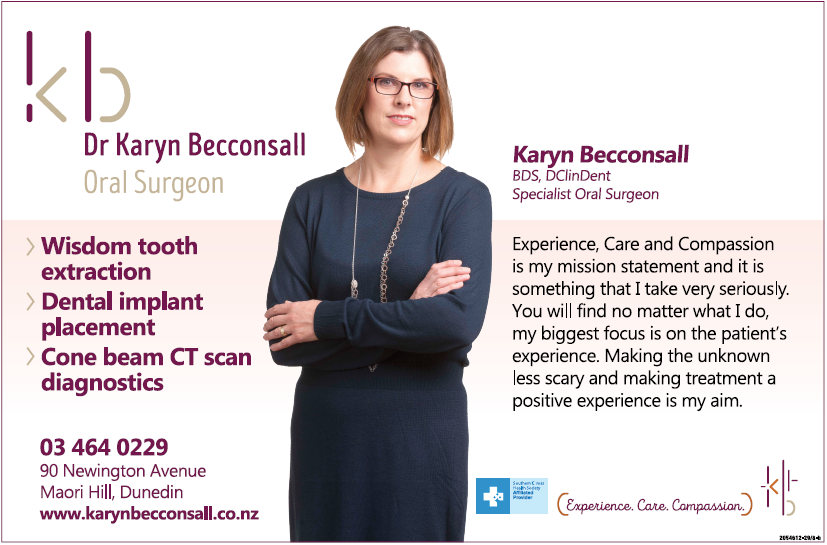 Dr Karyn Becconsall - Oral Surgeon