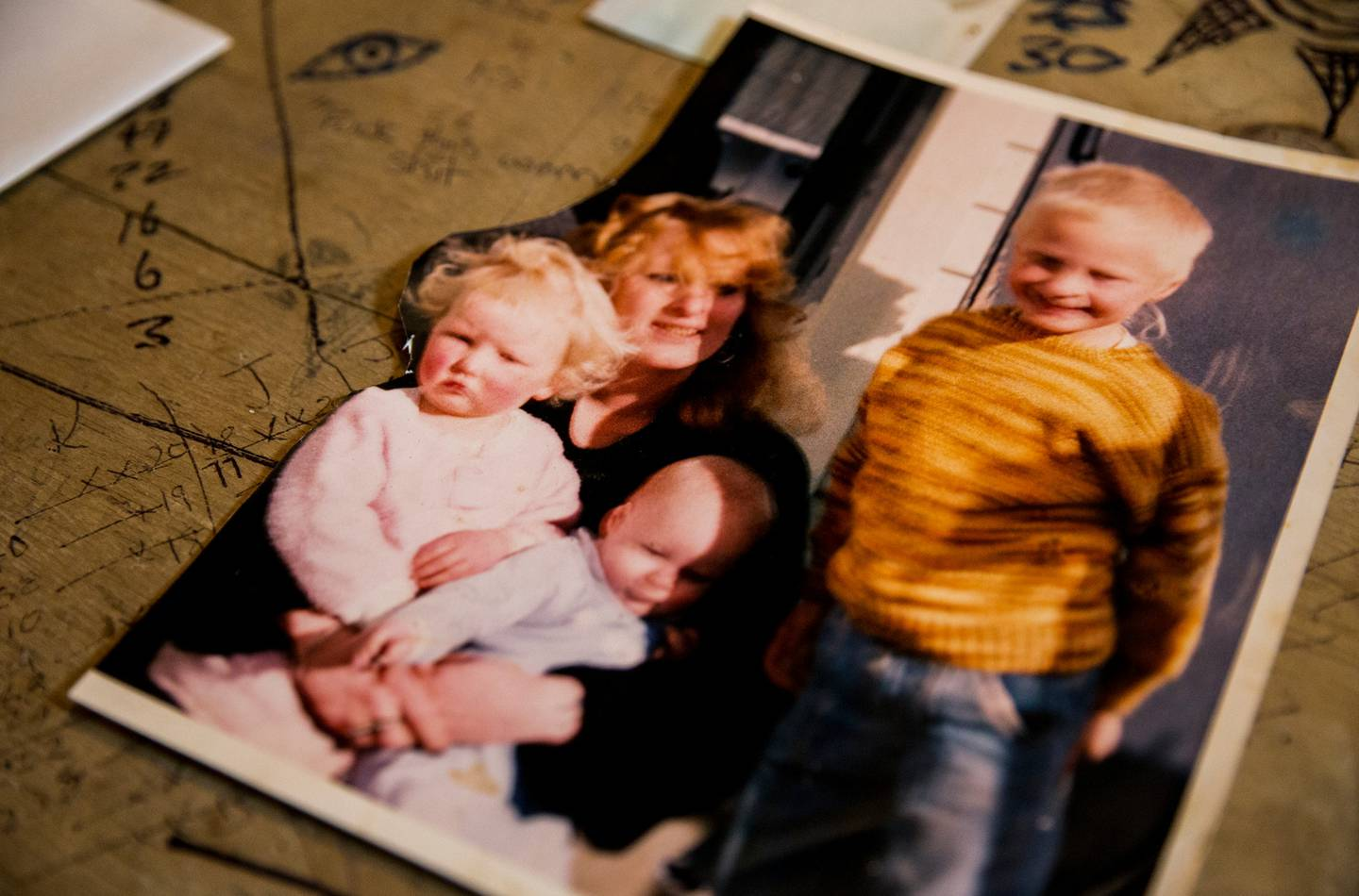 The last photo of Amber-Lee Cruickshank and her family a day before she went missing. Photo:...
