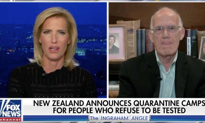 Fox News spread misinformation about New Zealand's Covid response, taking footage of Jacinda...