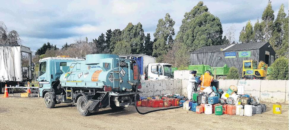 Pilot programme... Agrecovery is holdings a one­stop waste management shop in Winton on September...