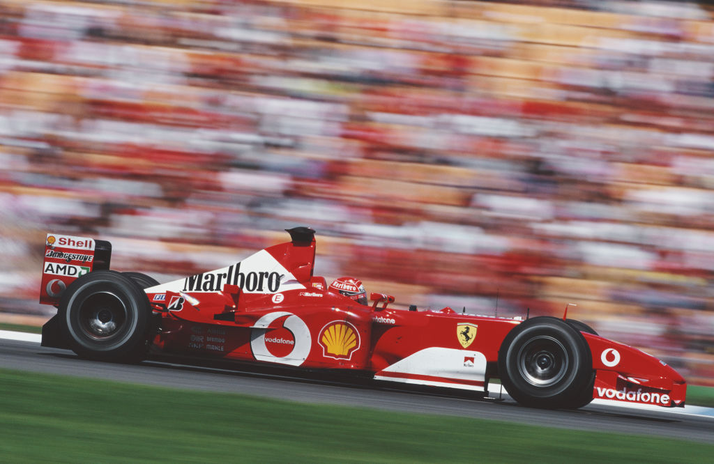 Michael Schumacher won his first two titles with Benetton in 1994 and 1995 before five in a row...