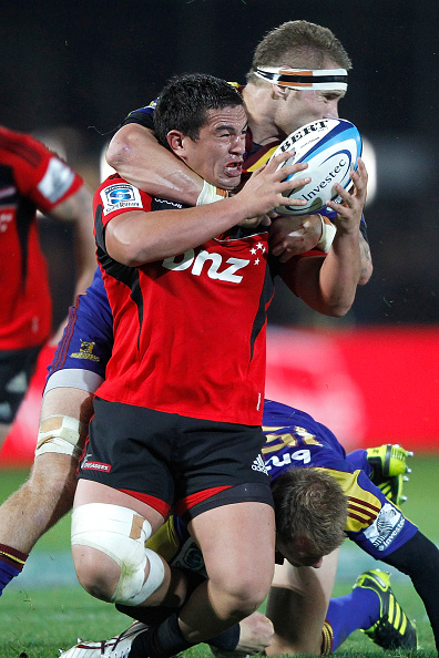 Joe Wheeler in action for the Crusaders in 2011. Photo: Getty