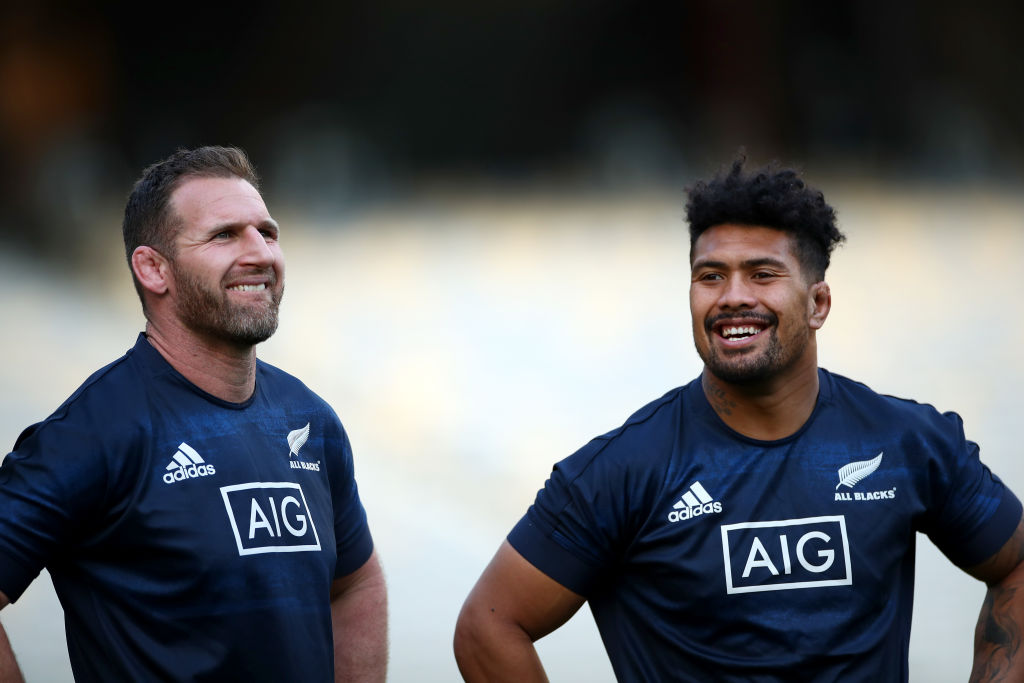 What's in a number? All Black captain and No 8 Kieran Read (left) and No 6 Ardie Savea at the...