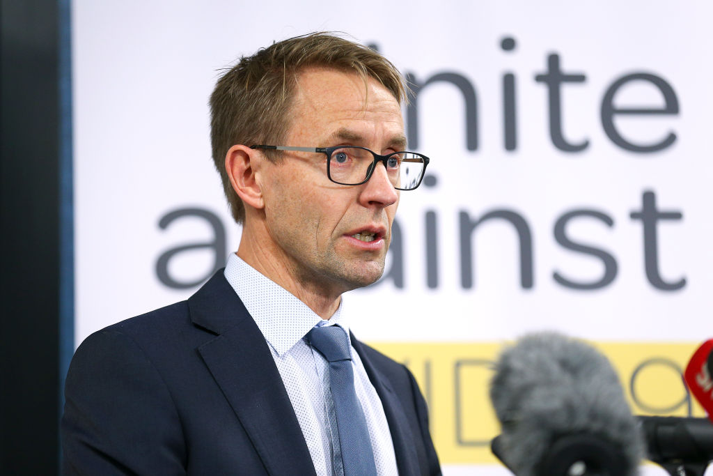 Director-general of health Ashley Bloomfield. Photo: Getty
