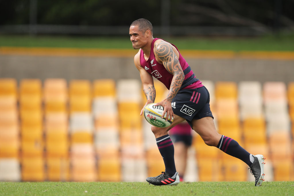There's no place for Aaron Smith in the team to play the Wallabies at the weekend. Photo: Getty