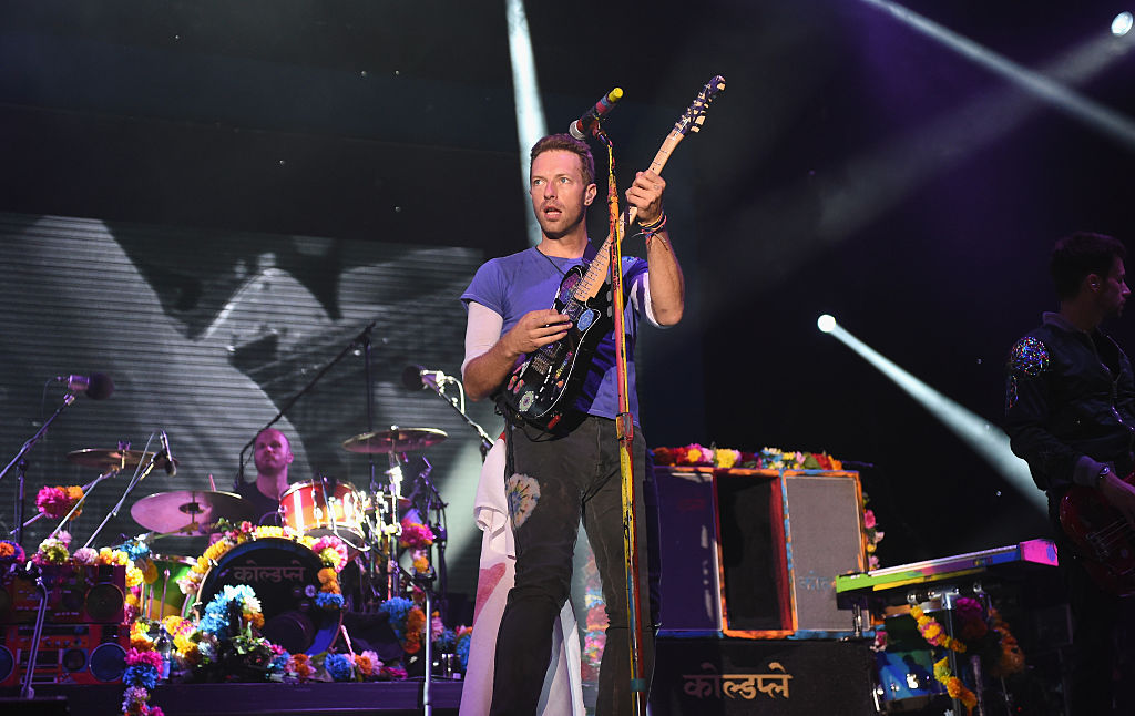 Coldplay's Chris Martin. Photo: Getty