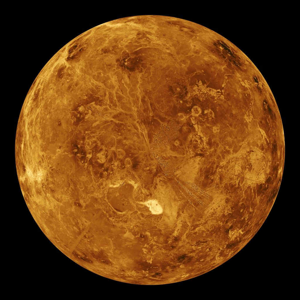 The planet Venus. Photo: Getty Images