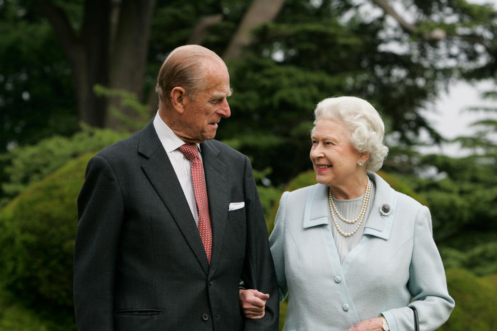 """""""He has, quite simply, been my strength and stay all these years,"""" the Queen said in a rare..."""