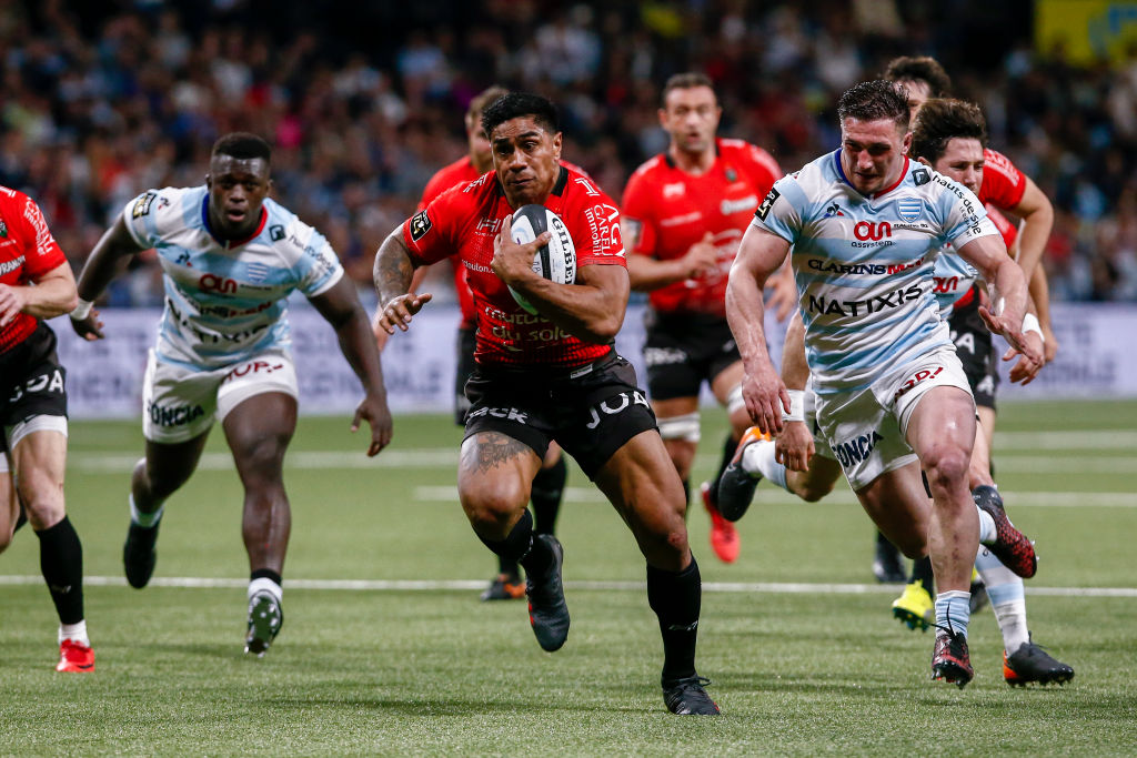 Malakai Fekitoa in action for Toulon earlier this year. Photo: Getty