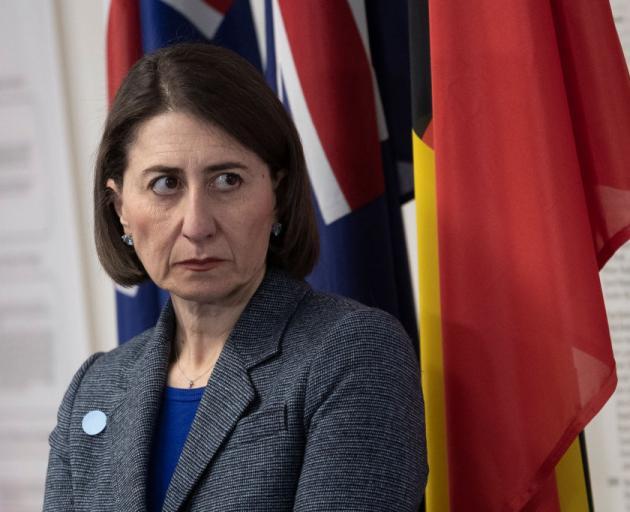 New South Wales Premier Gladys Berejiklian. File photo: Getty