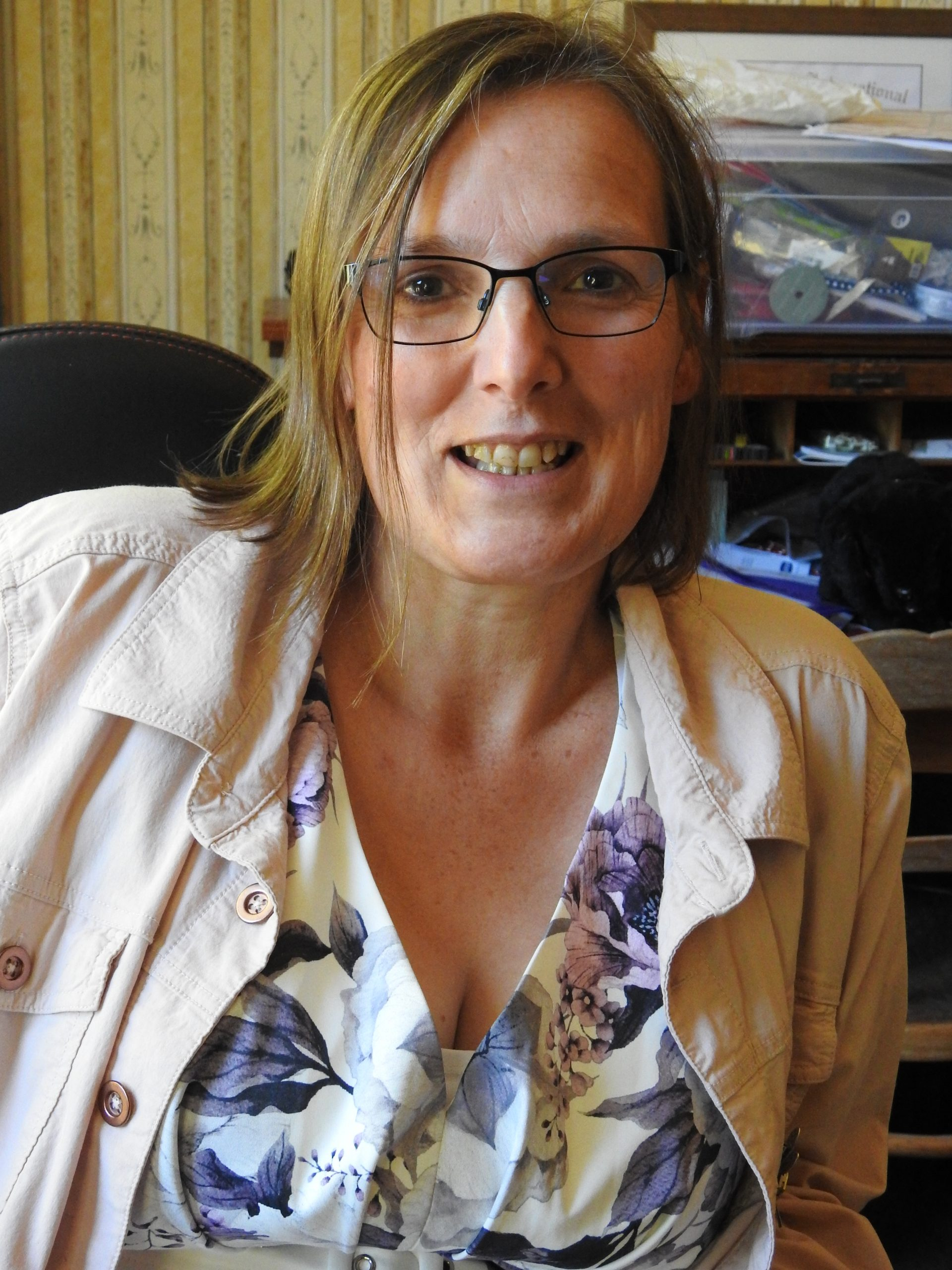 Louise Davy struggled to get an accurate diagnosis for her illness. Photo: Robyn Bristow