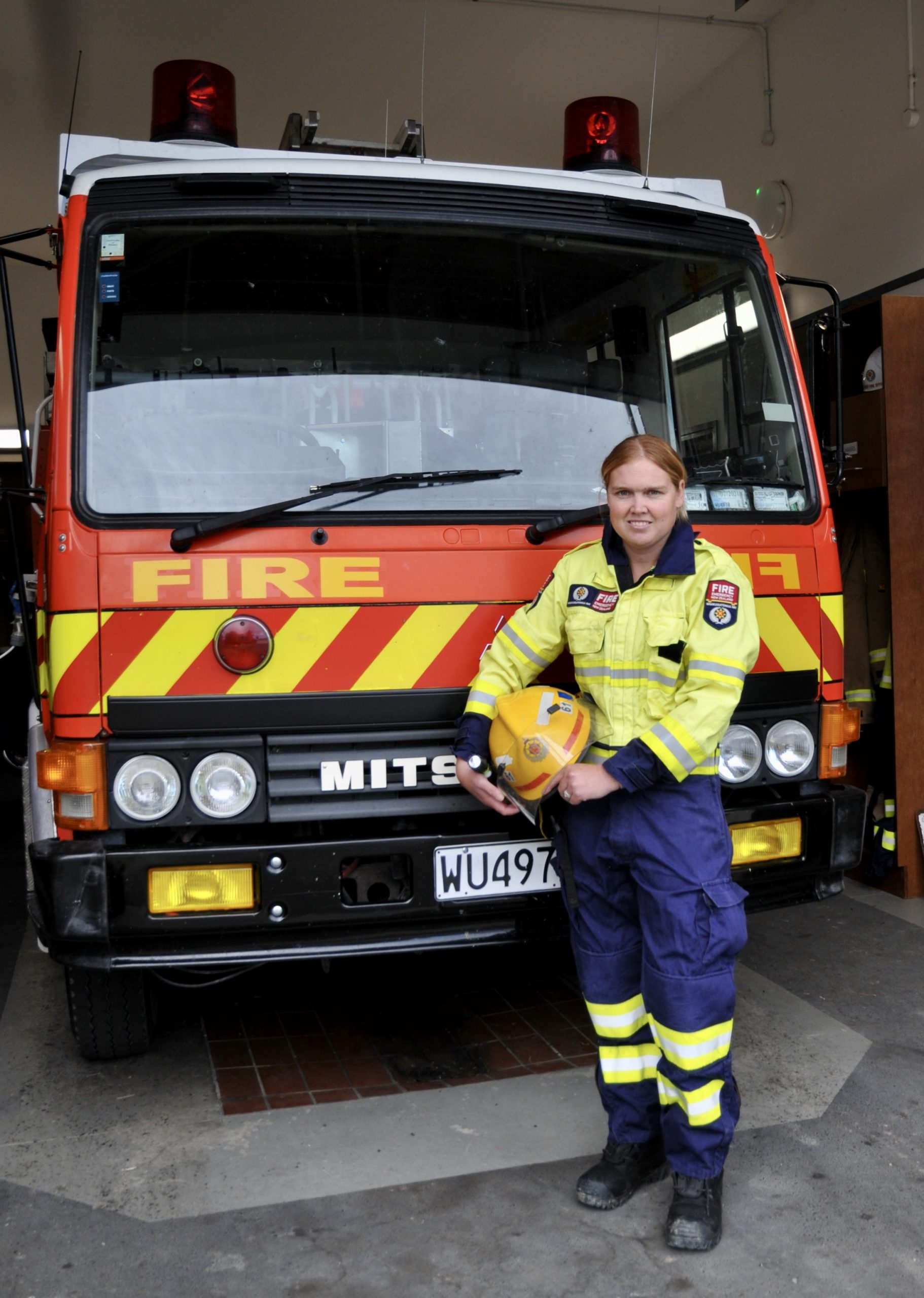 Felicity Lang is about to become the first senior woman firefighter in the Waipara Volunteer Fire...