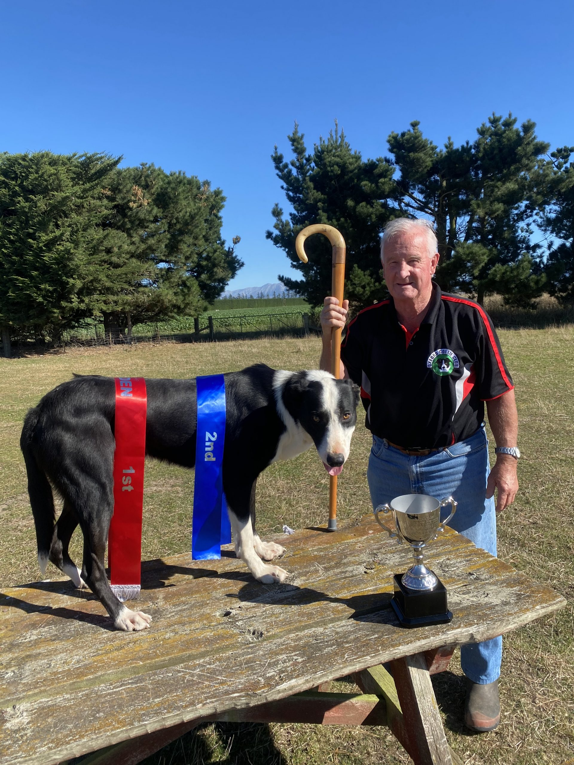 Gavin Frahm was thrilled with the efforts of his dog Winn, which enjoyed success at its first...