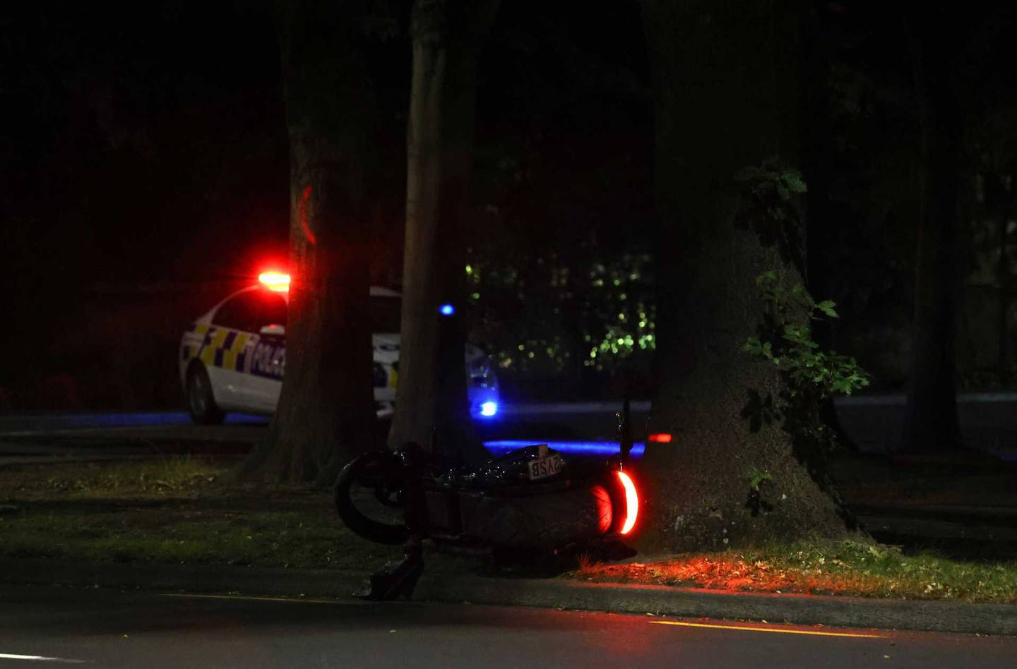 A motorcyclist has been seriously injured in a crash in Christchurch. Photo: George Heard