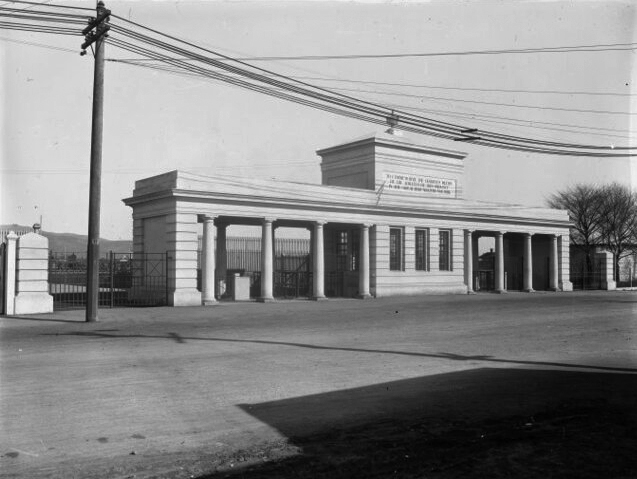 The gates in the 1920s. Photo: Supplied