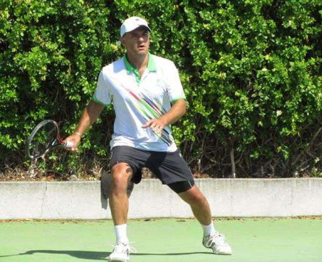 Glenn Wilson, 53, aims to help Waimairi defend their men's premier interclub title when Tennis...