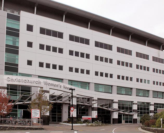 Christchurch Women's Hospital. Photo: Geoff Sloan