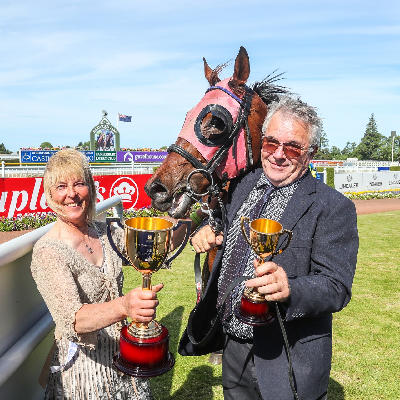 Terrill Charles – who trained last year's New Zealand Cup winner at Riccarton with partner Peter...